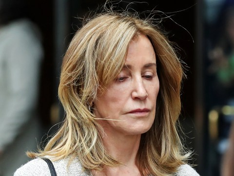 Desperate Housewives' Felicity Huffman sentenced to 14 days in prison over college admissions scandal