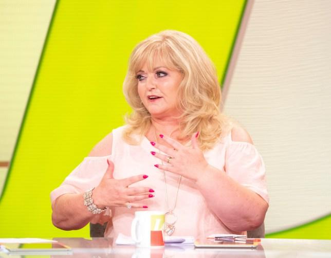 Linda Nolan on 'Loose Women' TV show, London, UK - 10 Aug 2018