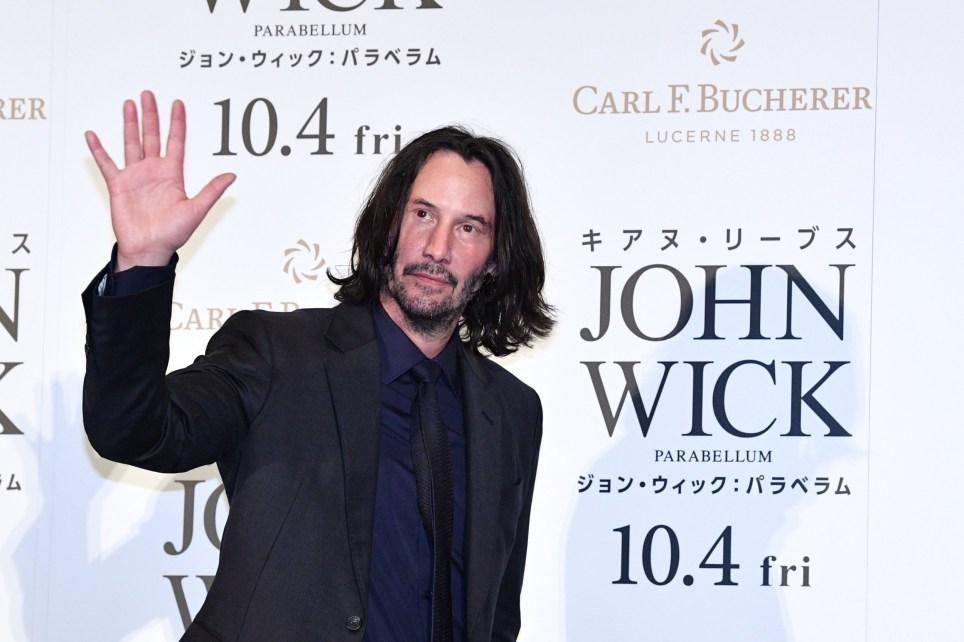 Keanu Reeves at John Wick: Chapter 3