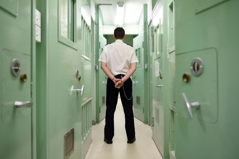 "EMBARGOED TO 0001 WEDNESDAY SEPTEMBER 11 File photo dated 19/11/2018 of a member of prison staff. A probation service's work with offenders remains ""unacceptably poor"" with concerns raised over failures to check the risks posed to domestic abuse victims and children, inspectors said. PA Photo. Issue date: Wednesday September 11, 2019. The ""greatest deficiencies"" in the Norfolk and Suffolk Community Rehabilitation Company (CRC) lie in its work to manage the risk of harm to others, in cases where the safeguarding of children or domestic abuse is a concern, the chief inspector of probation Justin Russell said. See PA story PRISONS Probation. Photo credit should read: Michael Cooper/PA Wire"