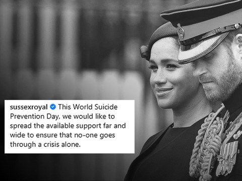 Meghan and Harry urge public to speak out on World Suicide Prevention Day