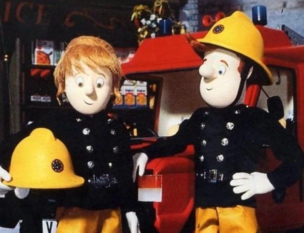 Penny Morris and Fireman Sam