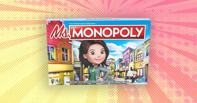 Ms Monopoly is a new version of the game