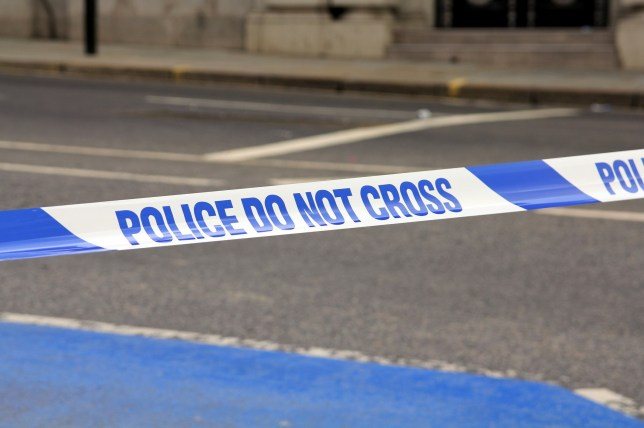 City of London Police - Do Not Cross barrier tape