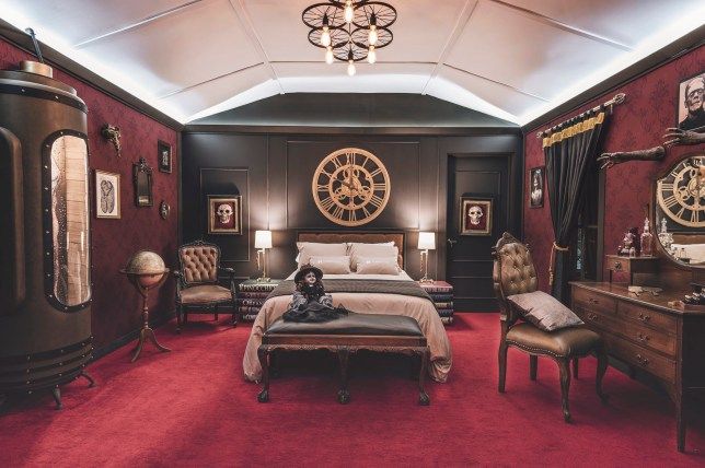 You can now stay in a terrifying Monster Suite in a museum in Mexico