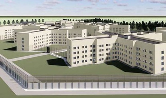 An application to build a so-called mega prison for 1,440 inmates next to an existing top-security jail has been approved by councillors. Provider: Ministry of Justice