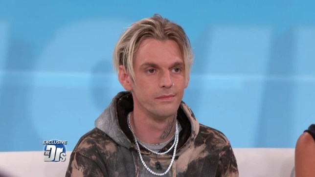 Aaron Carter Apologizes for Lying to The Doctors -- He Went to Rehab for Huffing