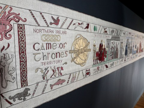 Game of Thrones tapestry unveiled in France and it looks epic