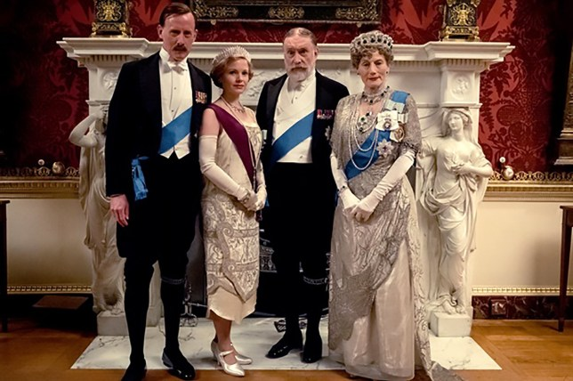 A still from the Downton Abbey film