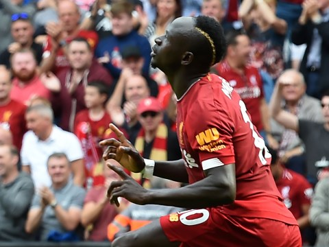 Sadio Mane double helps Liverpool record 14th straight Premier League victory