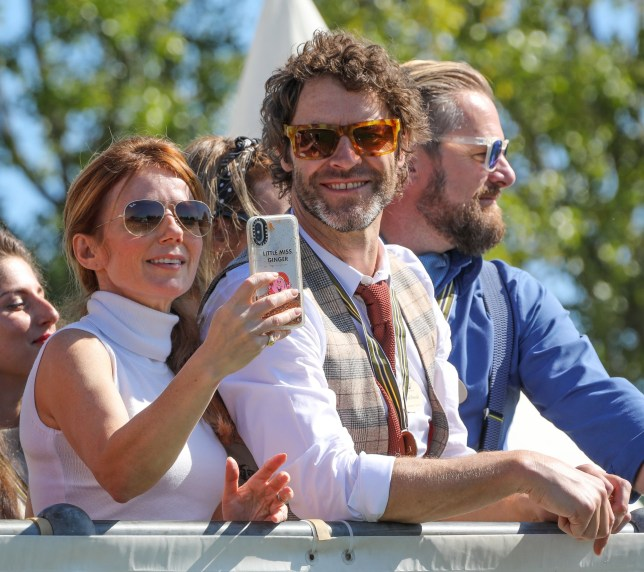 Spice Girls' Geri Horner hangs out with Take That's Howard Donald making our 90s dreams come true