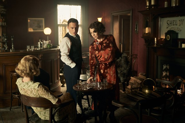 WARNING: Embargoed for publication until 00:00:01 on 17/09/2019 - Programme Name: Peaky Blinders V - TX: n/a - Episode: Peaky Blinders V Ep 6 (No. 6) - Picture Shows: Gina Gray (Anya Taylor-Joy), Michael Gray (Finn Cole), Polly Gray (Helen McCrory) - (C) Caryn Mandabach Productions Ltd. 2019 - Photographer: Robert Viglasky