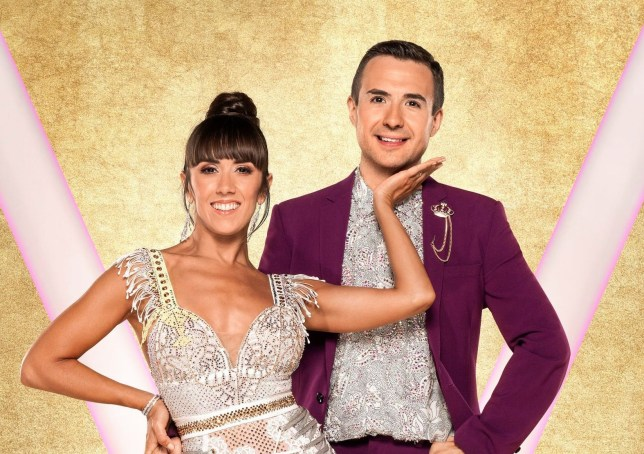Will Bayley MBE and Janette Manrara on Strictly Come Dancing