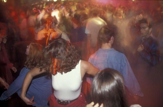 Mandatory Credit: Photo by Photofusion/REX (2280758a) Union disco, Freshers week, Hull University Youth