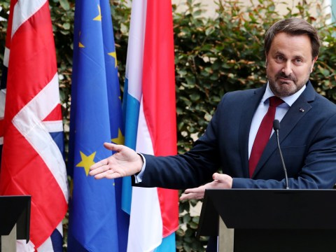 Boris was 'ambushed' by Luxembourg PM with empty podium 'trick'