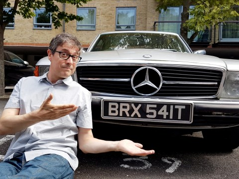 Remainer didn't notice 'BRX541T' number plate when he bought classic Mercedes
