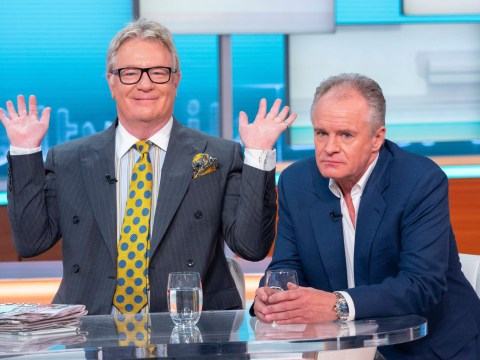 Susanna Reid can 'smell the fumes' from Bobby Davro as he turns up 'still drunk' to interview after hotel crawl