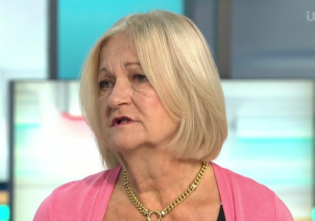 Sally Challen who killed her abusive husband but claims to still love him. On GMB