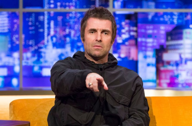 STRICTLY EMBARGOED UNTIL 00.01 FRIDAY 20th SEPTEMBER 2019 Mandatory Credit: Brian J Ritchie/Hotsauce. Editorial Use Only. No Merchandising. Mandatory Credit: Photo by Brian J Ritchie/Hotsauce/REX (10418180ac) Liam Gallagher 'The Jonathan Ross Show' TV show, Series 15, Episode 2, London, UK - 21 Sep 2019