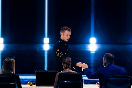 This image is strictly embargoed until 22.15 Saturday 14th September 2019 From Syco / Thames Britain's Got Talent: The Champions: Ep3 on ITV Pictured: Richard Jones. This photograph is (C) Syco/Thames and can only be reproduced for editorial purposes directly in connection with the programme or event mentioned above, or ITV plc. Once made available by ITV plc Picture Desk, this photograph can be reproduced once only up until the transmission [TX] date and no reproduction fee will be charged. Any subsequent usage may incur a fee. This photograph must not be manipulated [excluding basic cropping] in a manner which alters the visual appearance of the person photographed deemed detrimental or inappropriate by ITV plc Picture Desk. This photograph must not be syndicated to any other company, publication or website, or permanently archived, without the express written permission of ITV Picture Desk. Full Terms and conditions are available on the website www.itv.com/presscentre/itvpictures/terms For further information please contact: james.hilder@itv.com / 0207 157 3052