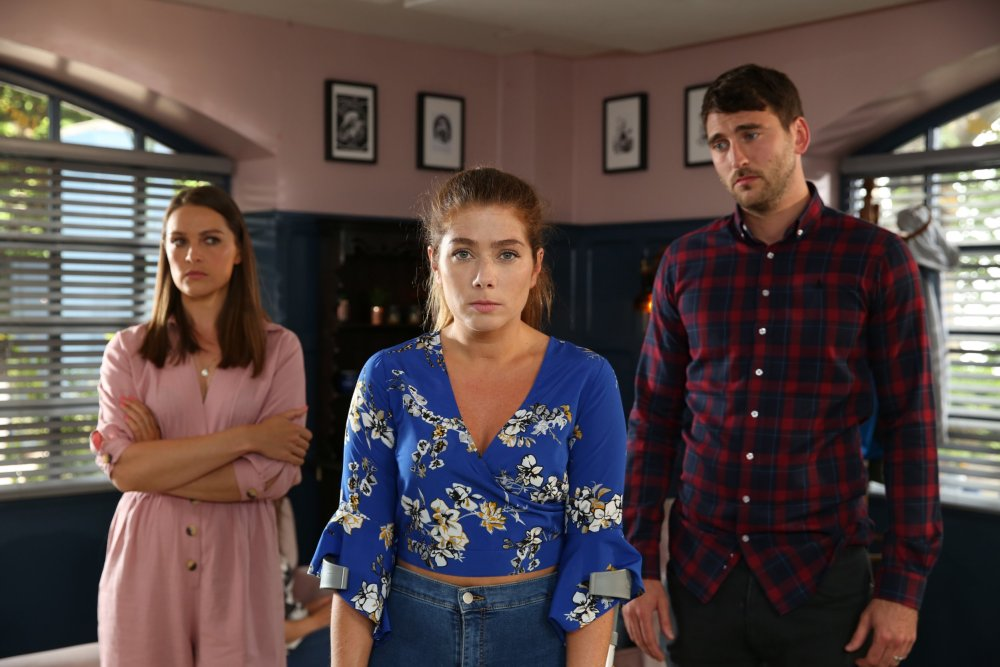 SIENNA IS GROWING IMPATIENT WITH MAXINE'S LIES EMBARGOED UNTIL 17 SEPT