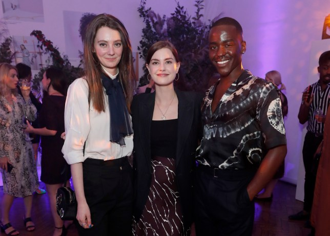 LONDON, ENGLAND - SEPTEMBER 19: Tanya Reynolds, Laurie Nunn and Ncuti Gatwa attend the Marie Claire Future Shapers Awards in partnership with Neutrogena at One Marylebone on September 19, 2019 in London, England. (Photo by David M. Benett/Dave Benett/Getty Images for Marie Claire)
