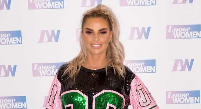 Katie Price shares old school books calling for free condoms and a 'man with lots of money'