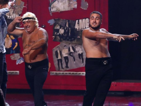 Britain's Got Talent's Stavros Flatley defiantly insist they're staying together despite split rumours
