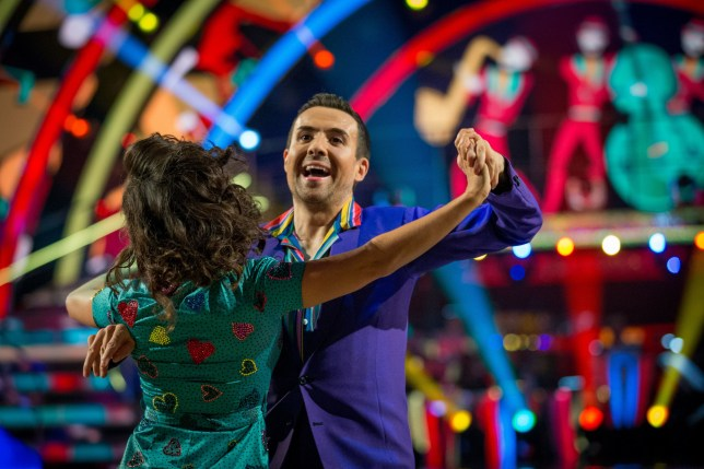 Strictly come dancing dancer Janette Manrara and paralympian will bayley
