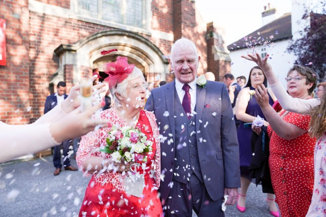 OAP couple get married after both losing their partners