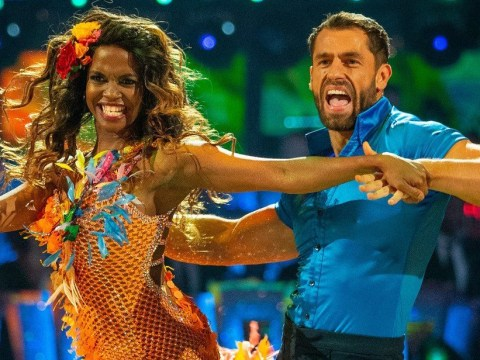 Strictly's Kelvin Fletcher wants us all to think he's in love with Oti Mabuse – including his wife