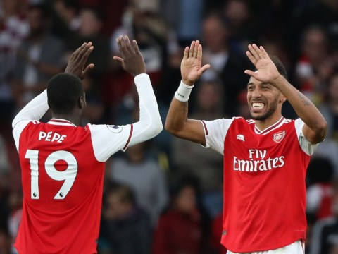 Tim Sherwood slams Arsenal star Pierre-Emerick Aubameyang for letting Nicolas Pepe take penalty