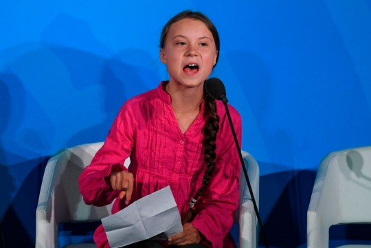 Greta Thunberg Tells Un Climate Summit You Stole My