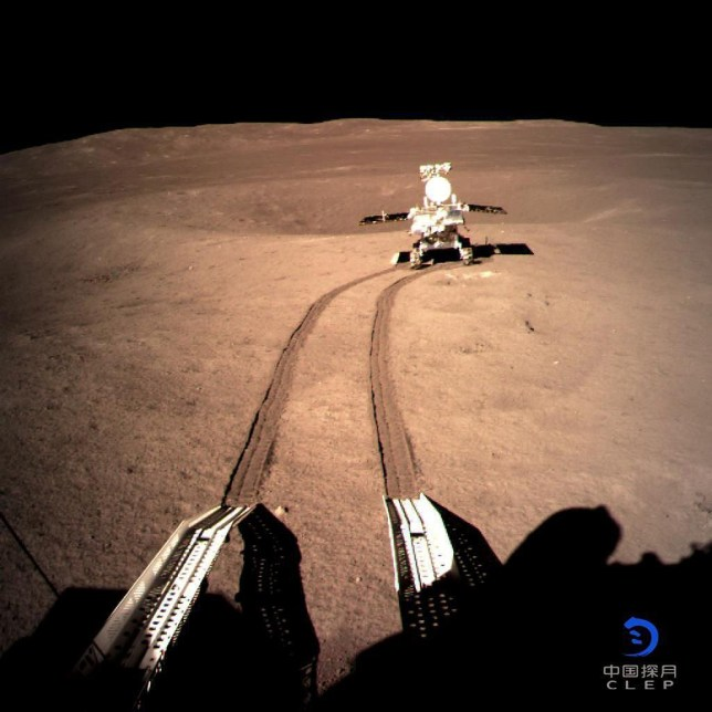 China begins work to identify mysterious 'gel' found on dark side of the moon Picture: CLEP/ reuters METROGRAB via: https://news.yahoo.com/chinas-moon-rover-snaps-pictures-of-gellike-substance-on-dark-side-of-the-moon-192909073.html?guce_referrer=aHR0cHM6Ly93d3cuZ29vZ2xlLmNvLnVrLw&guce_referrer_sig=AQAAAMN9zulU7fSYk-BuvQ3e9z8_DEv8jyp3G0-64RZ03-LCBnZJjTEGDAJQ8U5WZB0DzYKkVw_WNLvnIbxHvp4ODy8ncTmzQ1aL43HdJEf4_NWf9Ek3V9vy6wt1KzWf-GQcOX5LpXxV9MUAfLwUQbugV0gSj0PPSmOPCbsgQgPiqXwR&guccounter=2