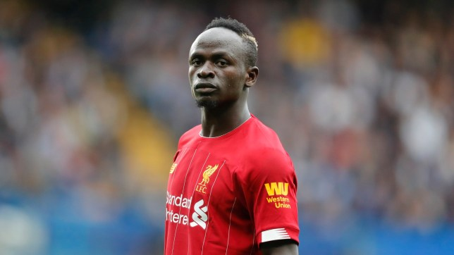 Liverpool's Sadio Mane during the British Premier League soccer match between Chelsea and Liverpool, at the Stamford Bridge Stadium, London, Sunday, Sept. 22, 2019. (AP Photo/Frank Augstein)