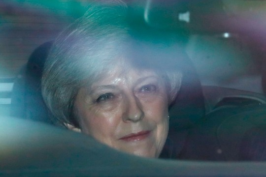 Conservative MP Theresa May, the former prime minister, arrives at the Houses of Parliament in central London on September 25, 2019. - British MPs return to parliament on Wednesday following a momentous Supreme Court ruling that Prime Minister Boris Johnson's decision to suspend parliament was unlawful.
