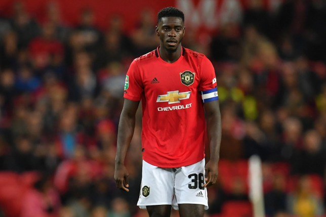 Axel Tuanzebe has missed Manchester United's clash against Liverpool