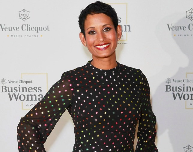LONDON, ENGLAND - MAY 23: Naga Munchetty at The Veuve Clicquot 2019 Business Woman Awards at The Design Museum on May 23, 2019 in London, England. (Photo by David M. Benett/Dave Benett/Getty Images Veuve Clicquot)