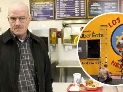 You can actually eat at Los Pollos Hermanos ahead of Breaking Bad movie El Camino's release