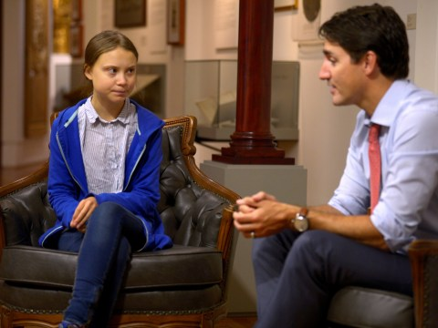 Greta Thunberg says Justin Trudeau is 'obviously not doing enough' to fight climate change