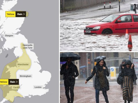 Weekend washout: UK to be hit with heavy rain, gale-force winds and flooding