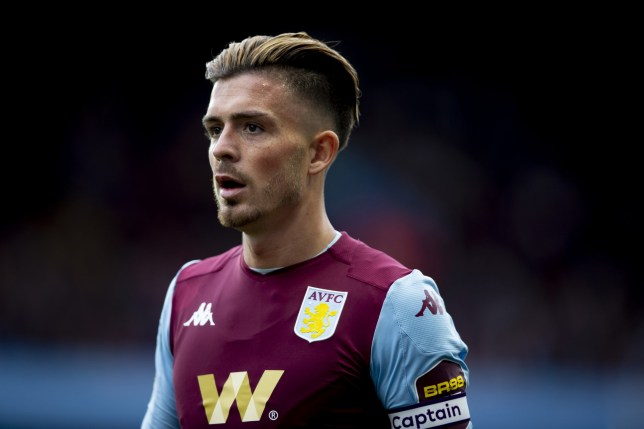 Aston Villa midfielder Jack Grealish could be heading to Arsenal (Getty Images)
