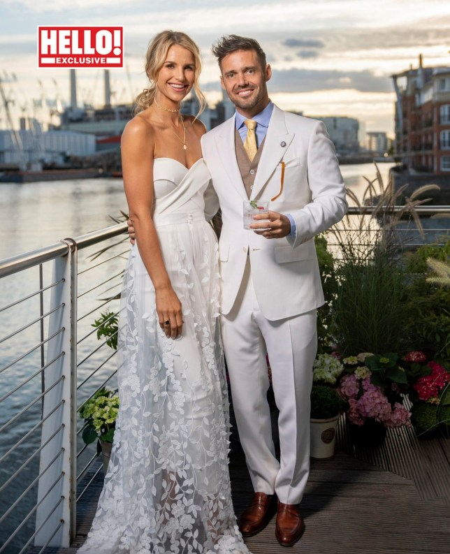 THIS PICTURE MUST ONLY BE USED IN CONJUNCTION WITH THE FRONT COVER OF THIS WEEKS HELLO! MAGAZINE. NO SALES NO ARCHIVE. EDITORIAL USE ONLY. ANY PUBLICATION WANTING TO USE THIS IMAGE SUPPLIED BY HELLO! ON PAGE ONE OF THEIR PUBLICATION MUST GET EXPRESS PERMISSION FROM HELLO! BEFORE DOING SO Undated Hello! handout photo of Spencer Matthews and Vogue Williams as they appear in this week's edition of the magazine. PA Photo. Issue date: Monday September 30, 2019. See PA story SHOWBIZ Matthews. Photo credit should read: Trevor Leighton/Hello!/PA Wire NOTE TO EDITORS: This handout photo may only be used in for editorial reporting purposes for the contemporaneous illustration of events, things or the people in the image or facts mentioned in the caption. Reuse of the picture may require further permission from the copyright holder.