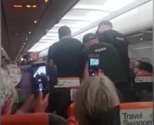 easyJet drunk who locked himself in toilet Picture: SWNS METROGRAB