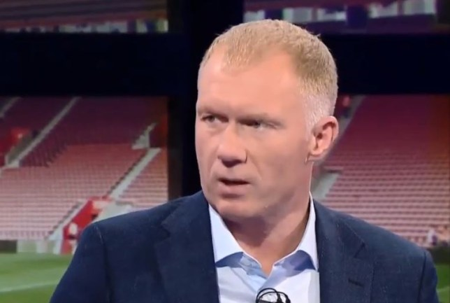 Paul Scholes was 'disappointed' with Manchester United's draw vs Southampton