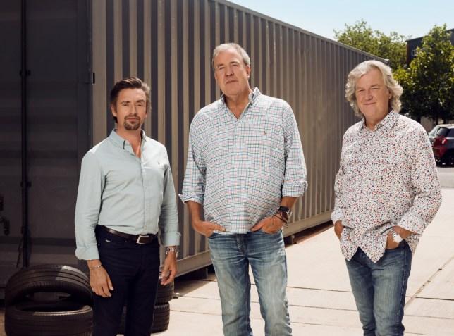 Richard Hammond, Jeremy Clarkson, James May.?The trio return to Amazon Prime Video on 18th Jan? Marketing shot