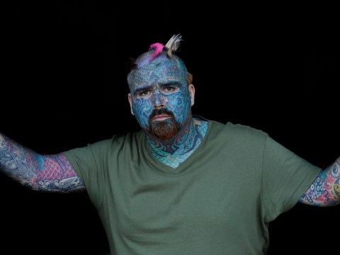 Britain's most tattooed man wants chopping off nipples to be legalised