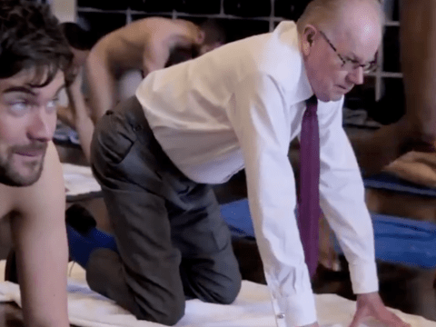 Jack Whitehall and his dad try naked yoga in new Netflix series and it's baffling
