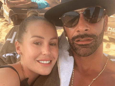 Kate Wright and Rio Ferdinand are married after tying the knot in Turkey