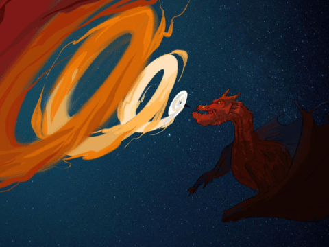 Ravenous black holes behave like 'starved space dragons', scientists claim